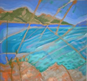 camille marquand original oil on canvas 40x40 cm £400