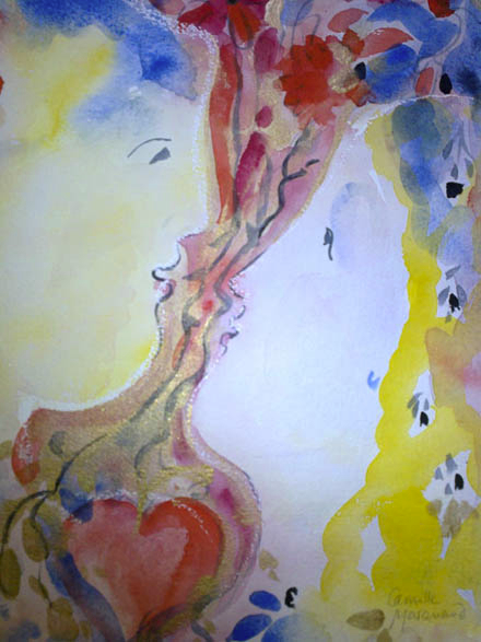 Watercolours -Camille Marquand