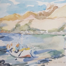 Fishing Boats, Sfinari Harbour