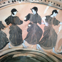 Girls Dancing On The Sacred Way