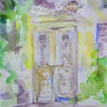 Old Door In Kastelli