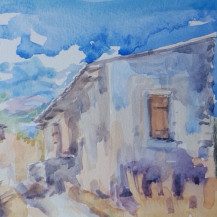Old House Outside Nopigia
