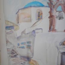 Purgos Church, Santorini