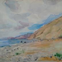 Beach near Ag. Vasilis, Kissamos Crete