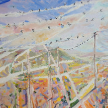Swallows on the Line